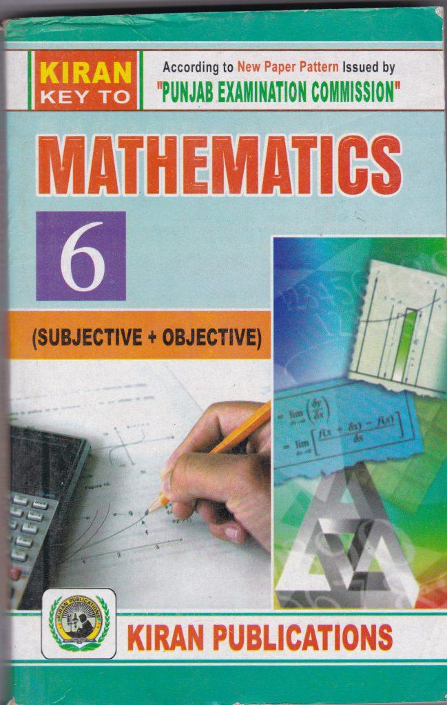 Key to Math (EM) 6th – Kiran Publications